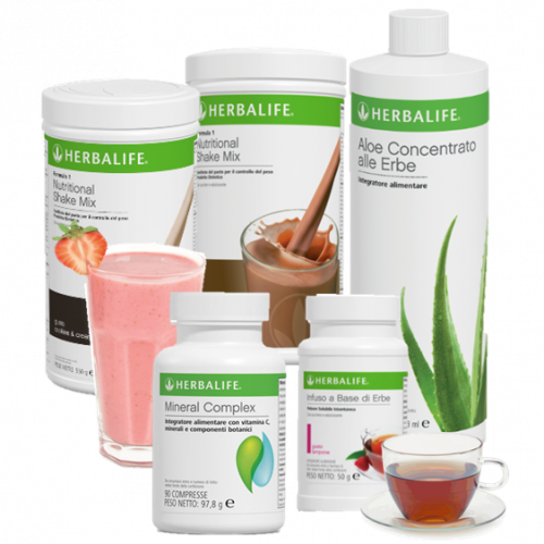 Kit Perdi Peso Herbalife